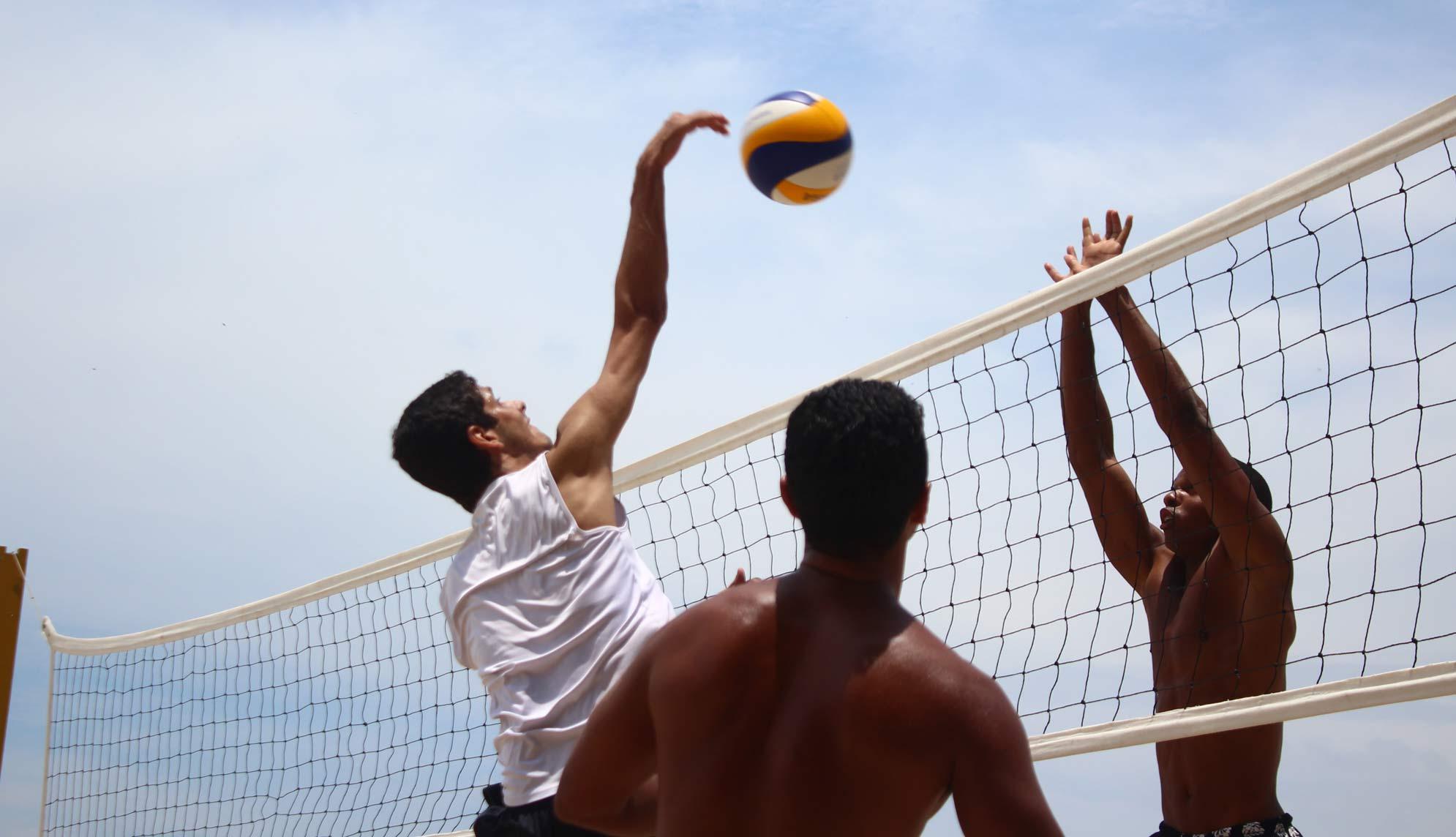activite beach volley loix