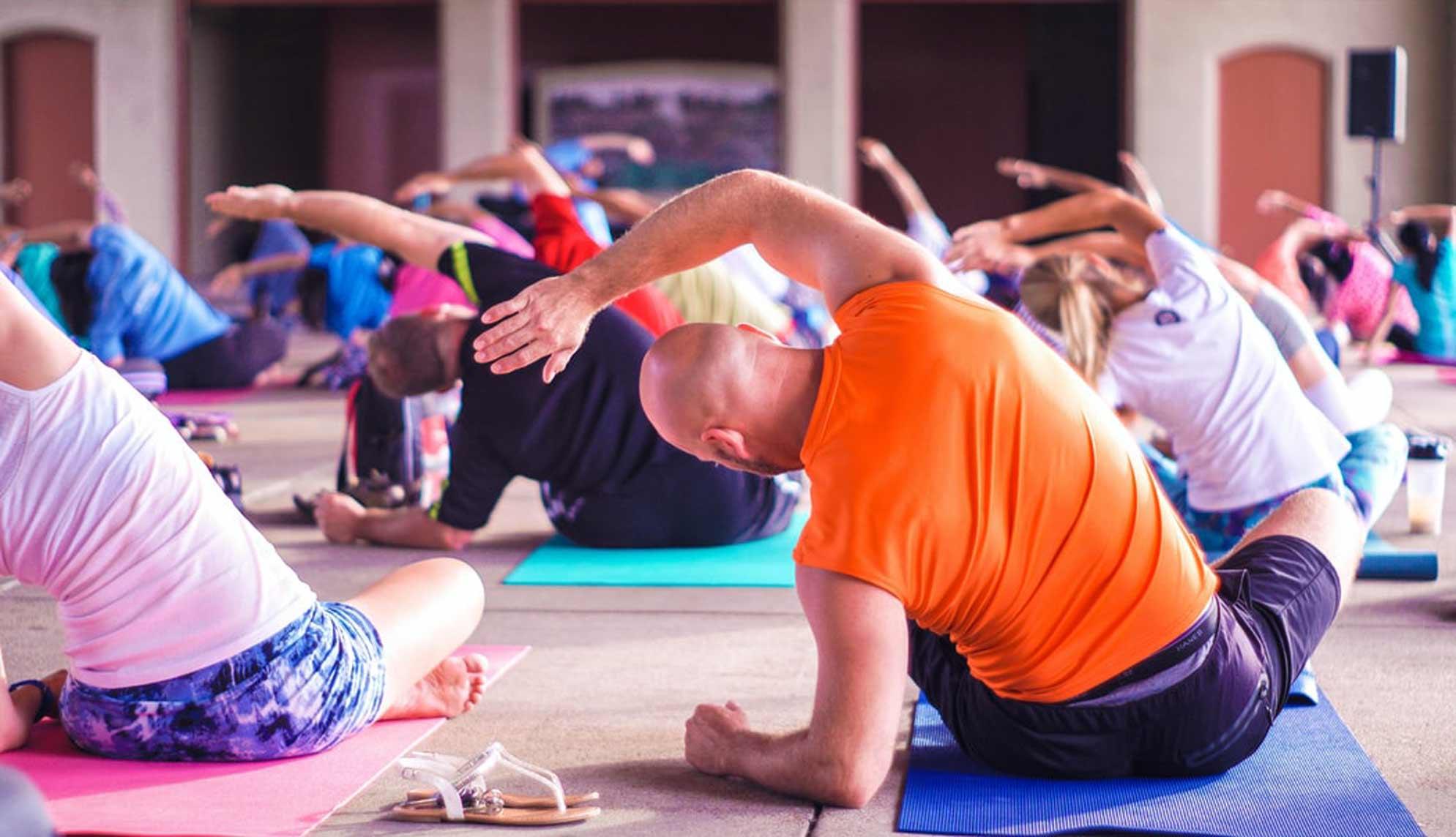 camping yoga ile de re